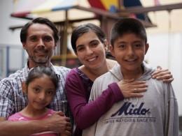 Famille refugies
