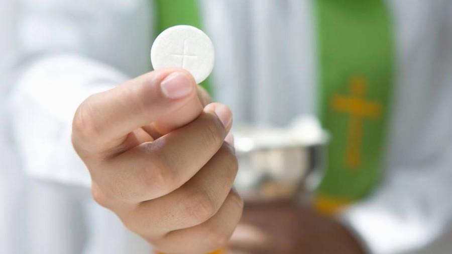 recevoir l'Eucharistie
