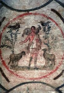 Catacombe de ste Priscille, Rome, IIIe siècle