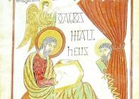 Saint Matthieu écrivant l'évangile