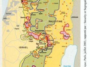Palestine Israel carte_1