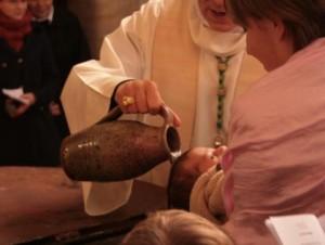 Baptisé dans l'eau