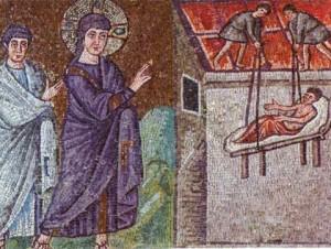 Jésus guérissant le paralytique