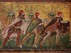 Les mages de Saint Appolinaire de Ravenne