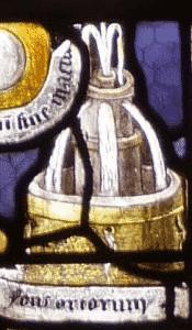 détail Mezières puits fontaine