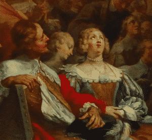 Gondi et sa femme