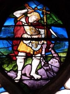 St Michel et le dragon, Montfort l'Amaury