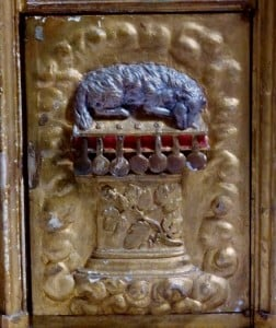 tabernacle Bailly, agneau sept sceaux, photo Nath
