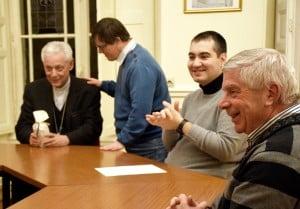 rencontre évêque/handicapés 1