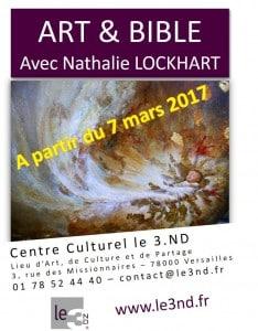 AFFICHE ART & BIBLE au 3ND 2017