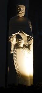 Statue d'Augustin Frison-Roche à Ste Julitte à St-Cyr-l'Ecole