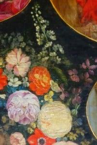 retable autre détail fleurs, N.lockhart