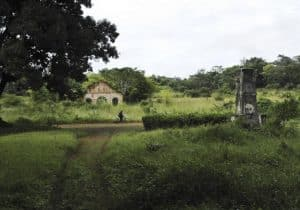 Point central de l'Afrique à Niangara