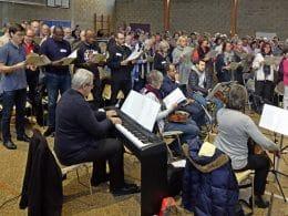 Rassemblement chorales liturgiques 2017 - diocèse de versailles