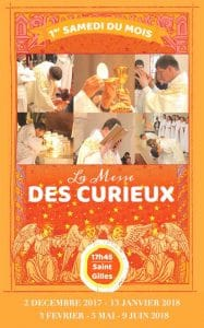 flyer messe des curieux - Bois d'Arcy