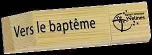 Clé USB Vers le baptême